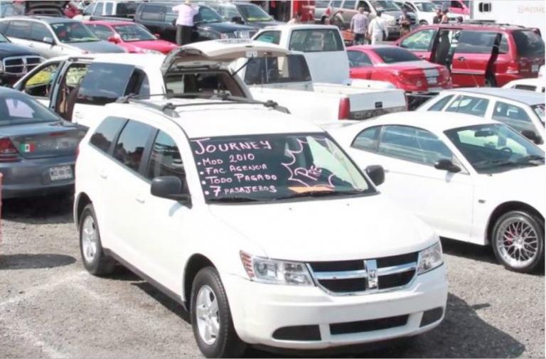 Caida en la venta de autos
