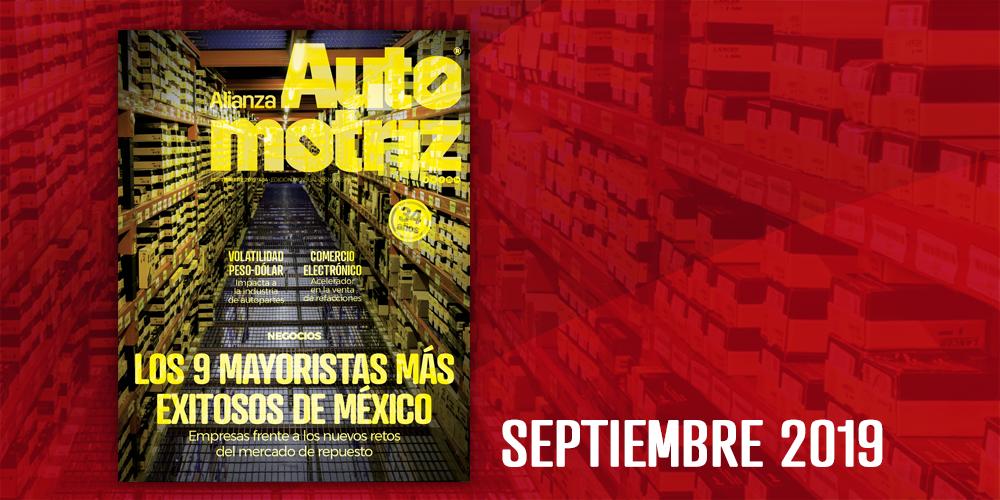 Alianza Automotriz Septiembre 2019