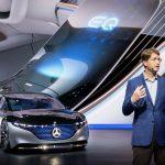 Mercedes-Benz sorprende durante el Auto Show de Frankfurt