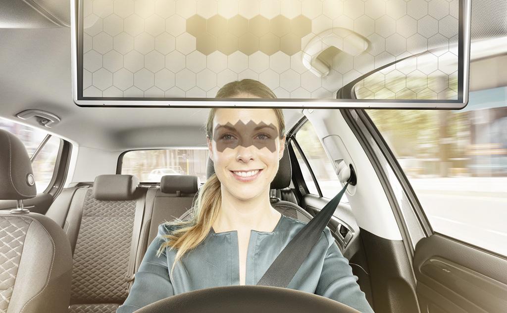 Bosch revoluciona la visera de los autos