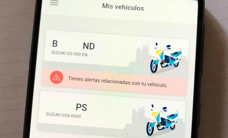 La aplicación donde llevas los documentos del coche y conductor.