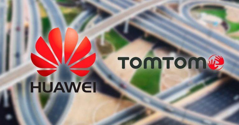TomTom sustituirá Google Maps en Huawei