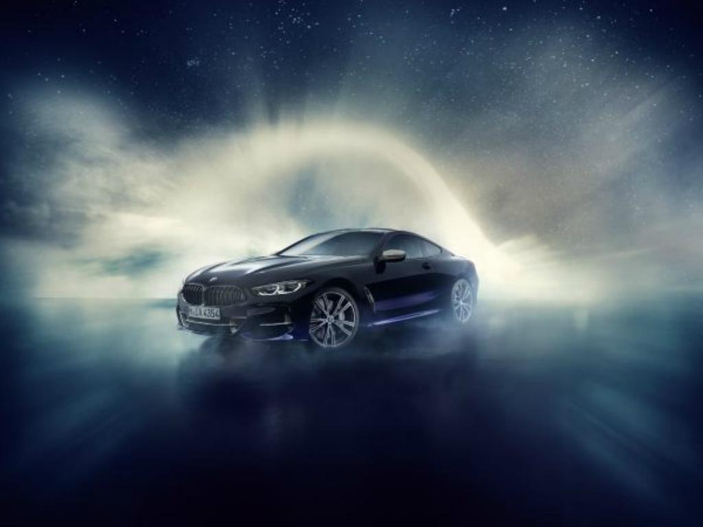 BMW clase 8 Sky Night, hecho con auténticos meteoritos.