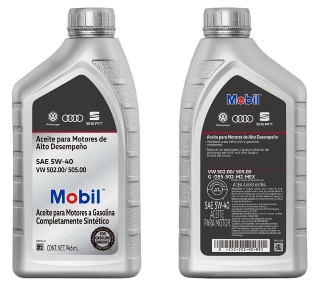 A partir de este año, los coches Volkswagen, Audi y SEAT usarán sólo lubricantes Mobil de agencia.