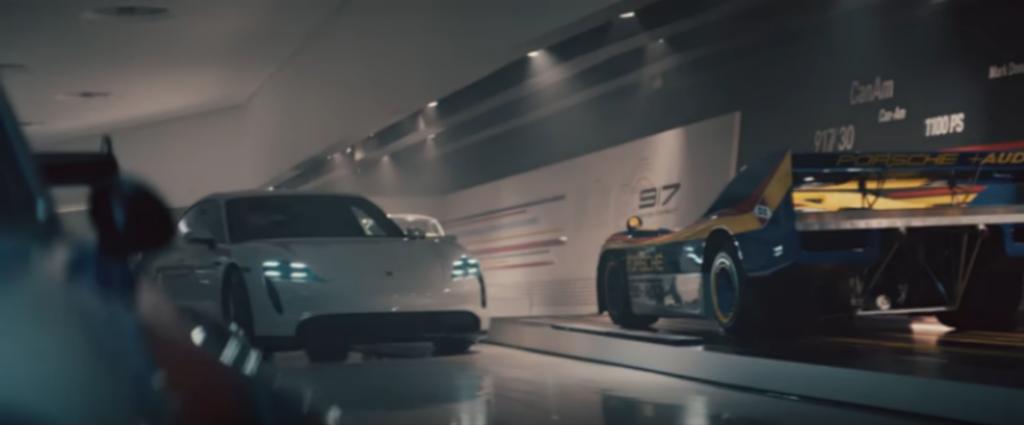Porsche mostró su spot llamado The Heist durante el Super Bowl.