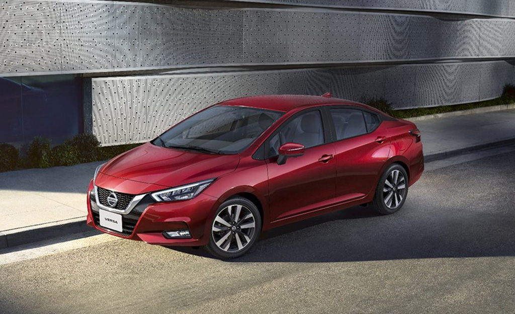 Nissan Versa, máxima seguridad