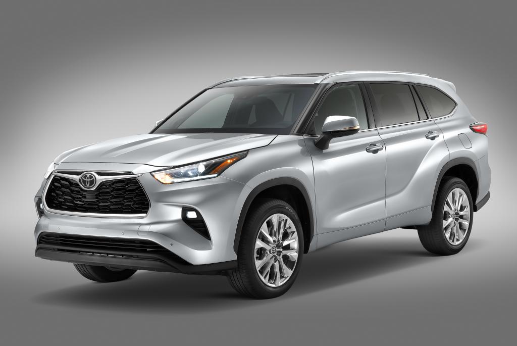 Toyota presentó su nueva SUV Highlander