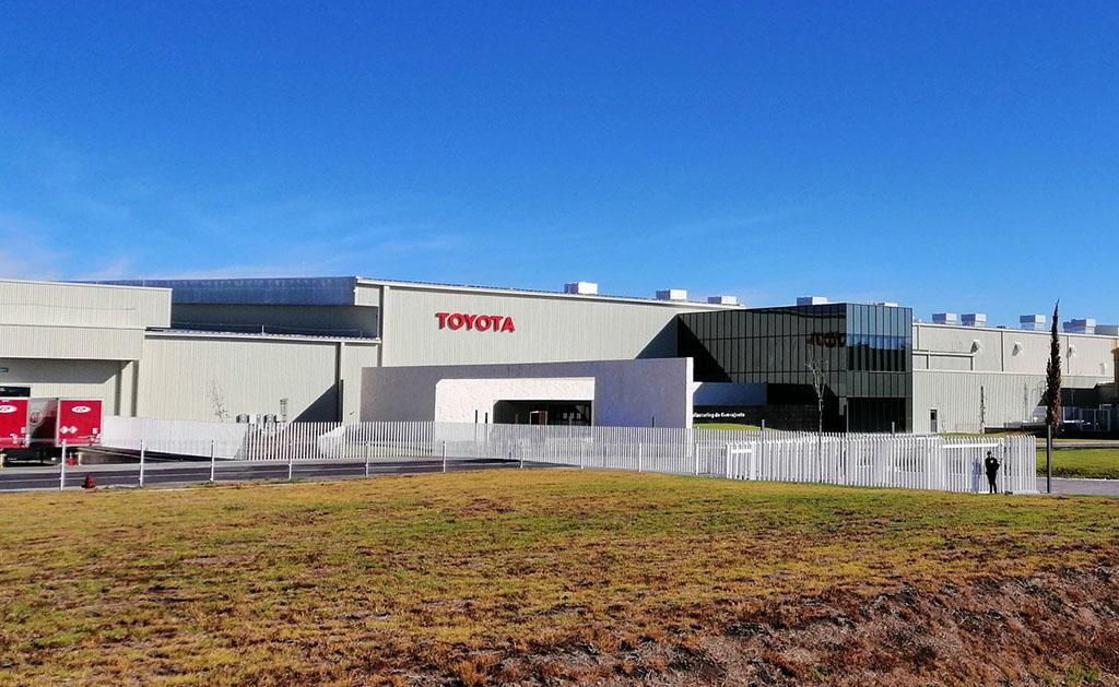 Toyota inaugura planta e Guanajuato
