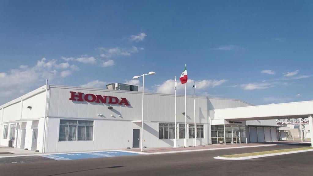 Honda suspenderá actividades de producción durante seis días.