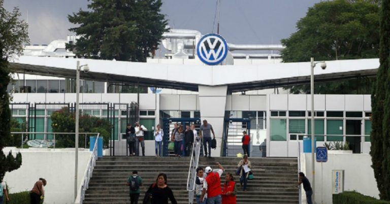 Volkswagen anunció un caso de Covid-19 en Puebla.