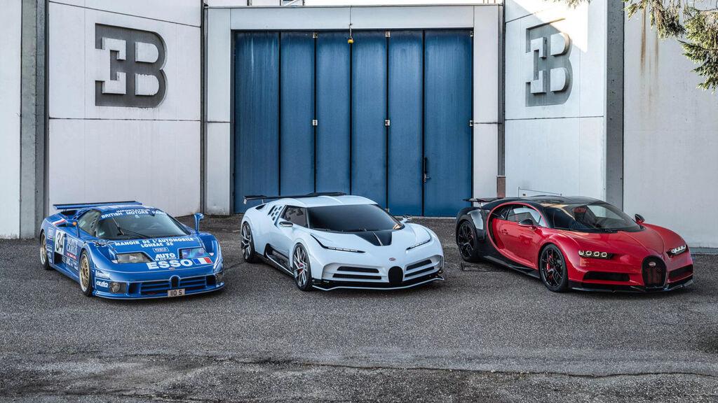 La historia de Bugatti