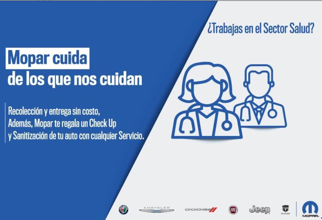 Mopar lanza campañas contra el coronavirus (COVID-19)