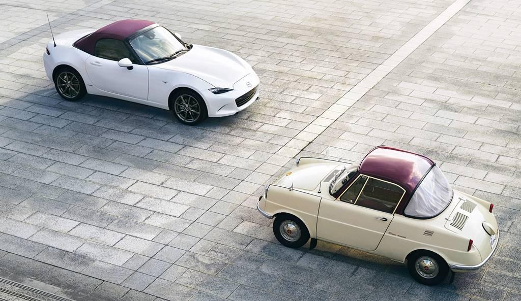 Mazda saca ediciones de aniversario