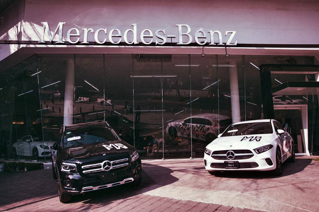 Mercedes Benz lleva a youtube su Fashion Week