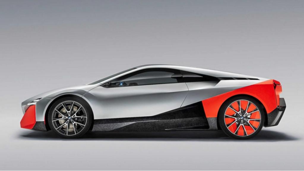 BMW echa atrás su Vision M Next, sucesor del i8