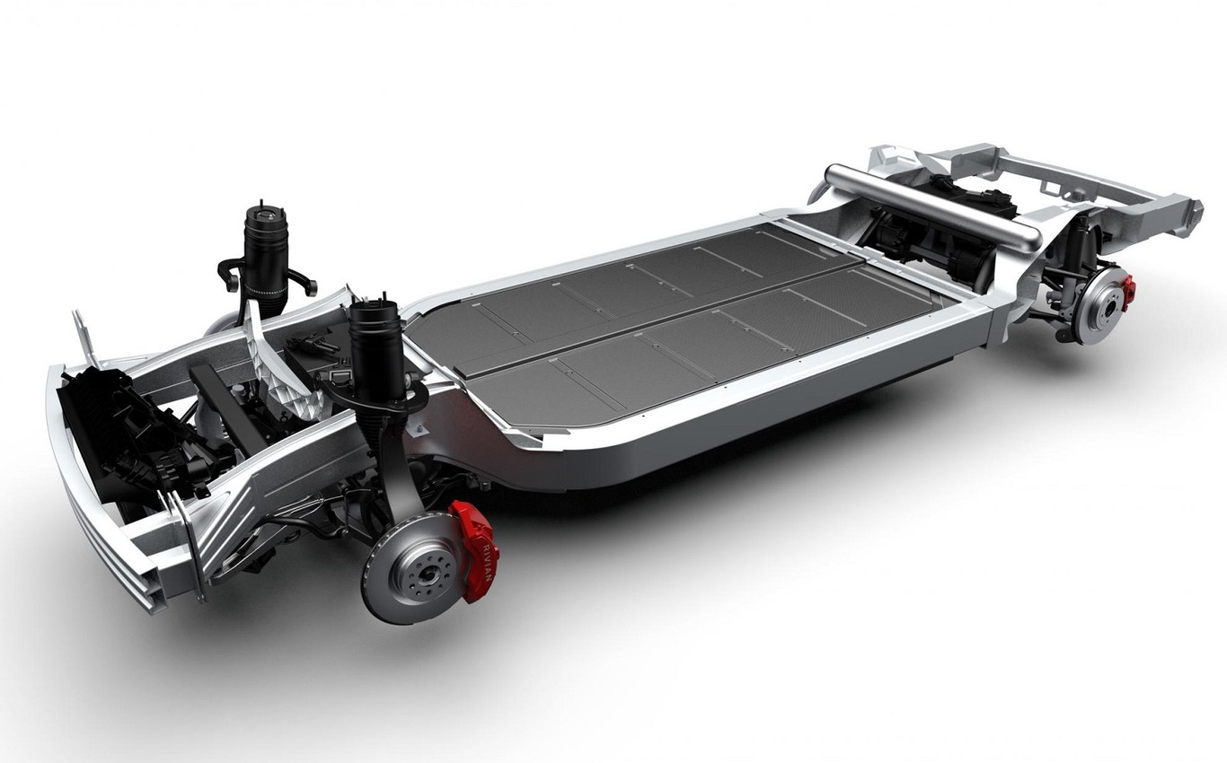 Plataforma de Rivian para autos eléctricos
