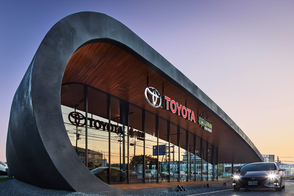 La revolucionaria agencia de Toyota en Osaka