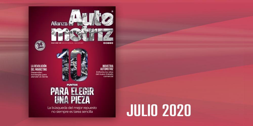 Alianza Automotriz julio 2020