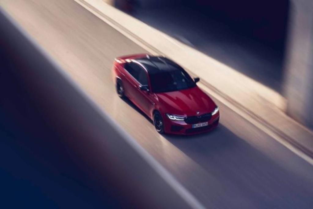 M5 Competition será la versión equipada del vehículo de BMW.