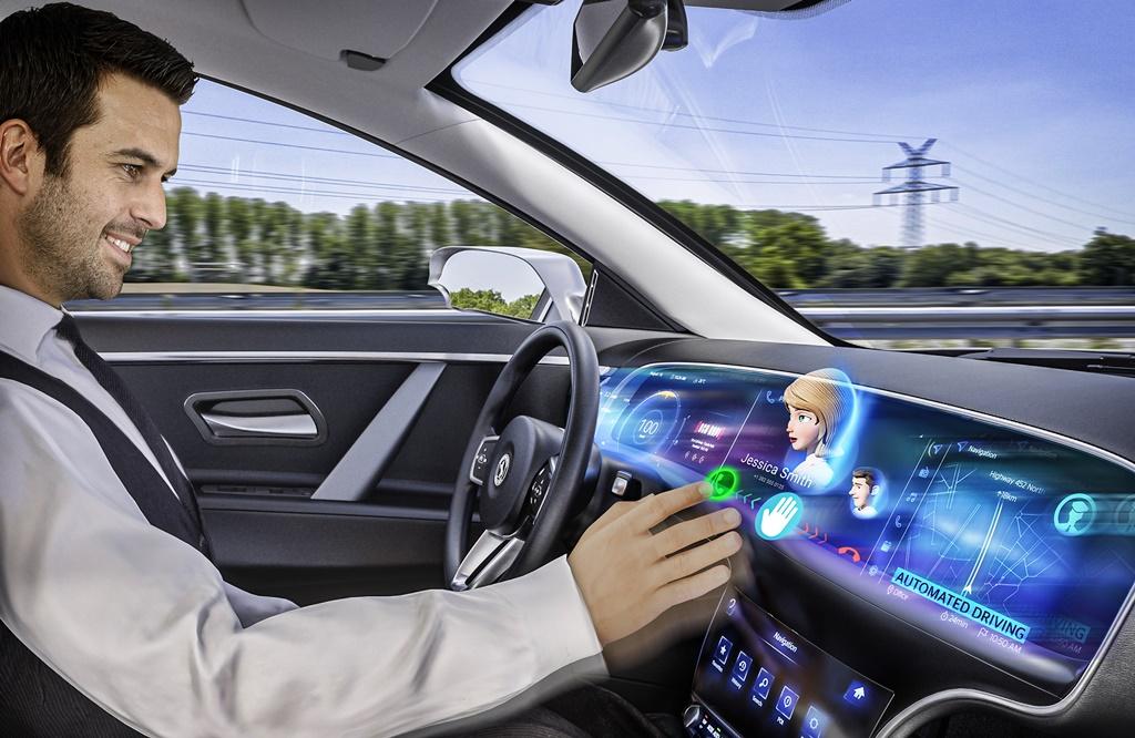 La pantalla de Continental tiene un holograma 3D que entiende comandos con el cuerpo.