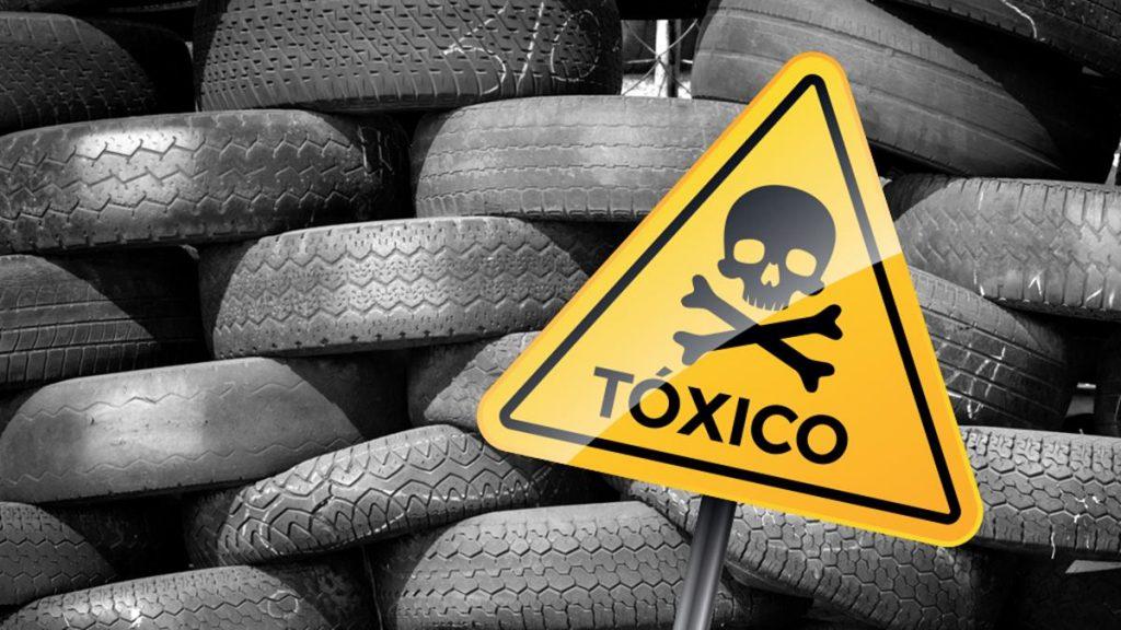 Los residuos peligrosos del taller
