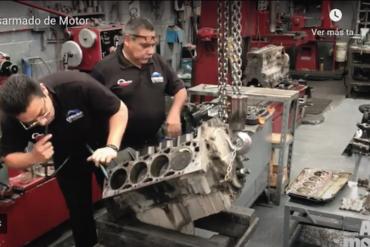 desarmado un motor