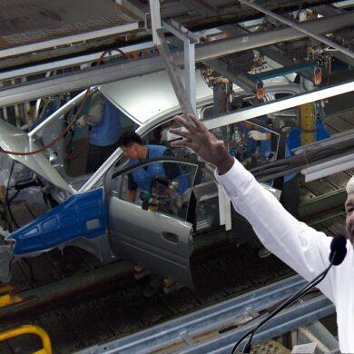 segundo informe y la industria automotriz