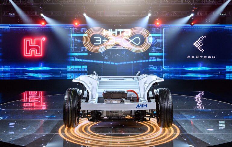 Foxconn y los coches eléctricos