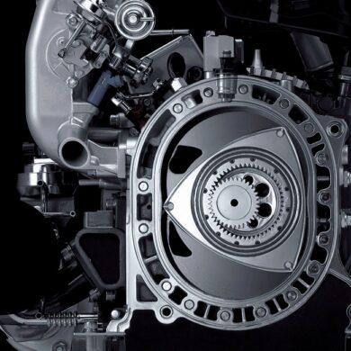 Motor rotativo de mazda