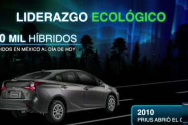 Toyota y sus coches verdes