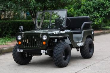 jeep eléctrico
