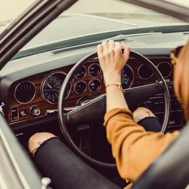 mujeres volante