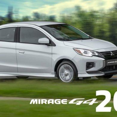 Mirage G4 de Mitsubishi