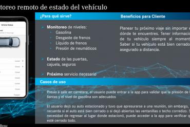 Nuevas funciones de Mercedes me