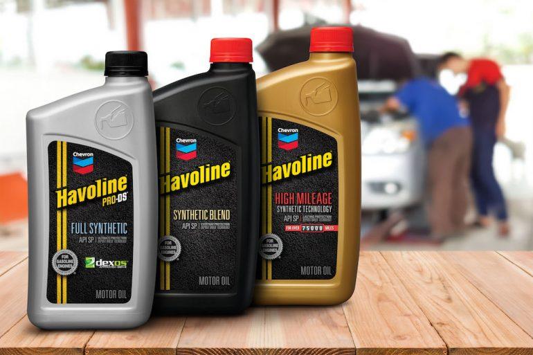 nueva línea Chevron Havoline