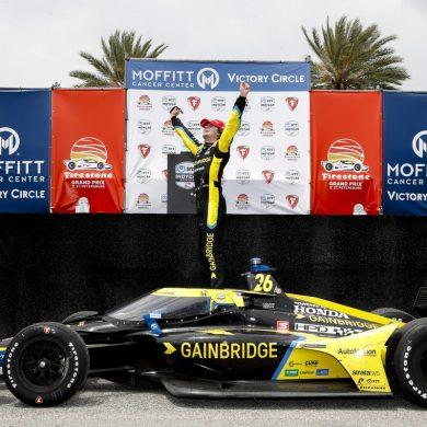 Colton Herta, dos victorias para Honda