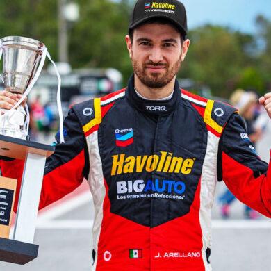 José Arellano, piloto del Chevron Havoline Racing Team